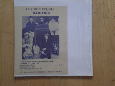ELECTRIC PRUNES - COUNT FIVE