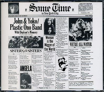 LENNON, JOHN - YOKO ONO & The PLASTIC ONO BAND
