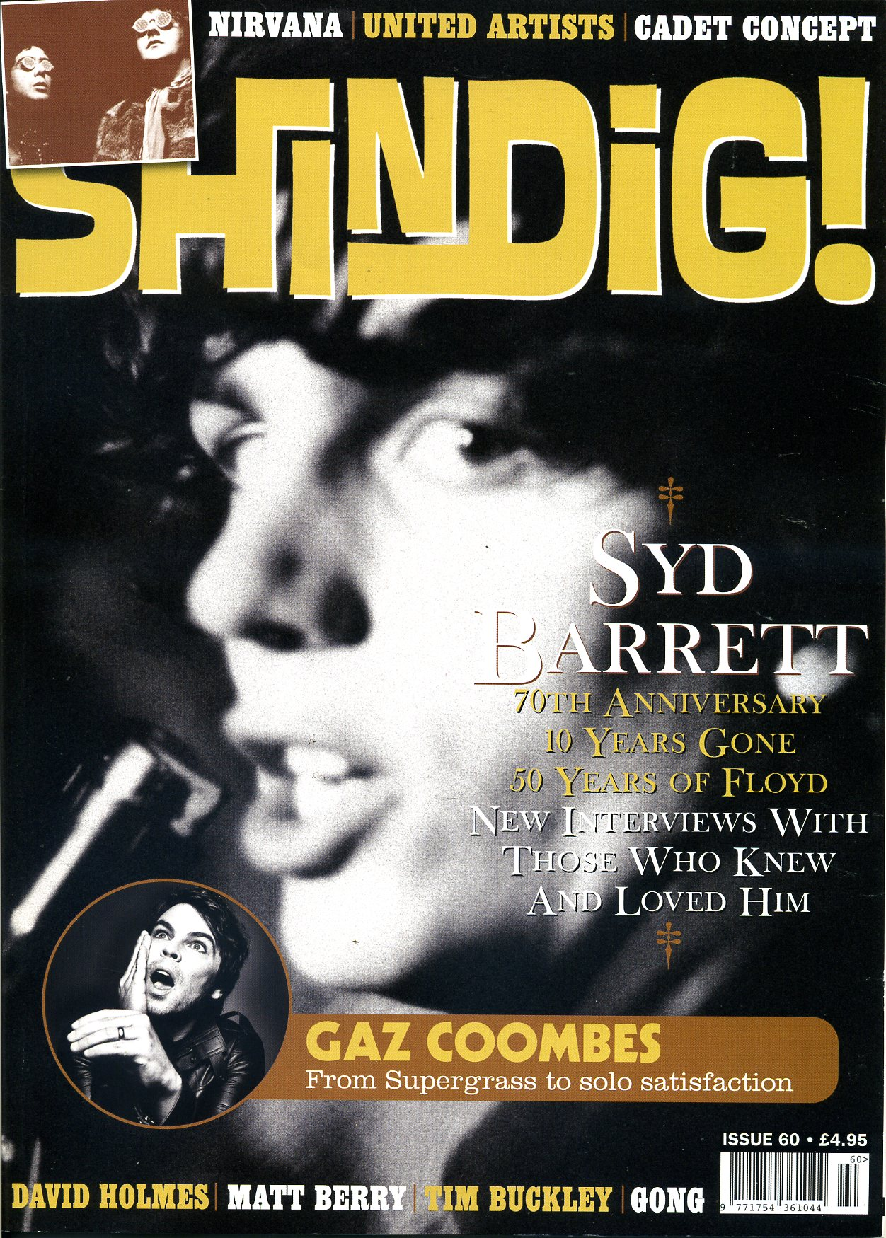 SHINDIG! Issue 60  (ab: 5.Oct)